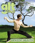 Scott Cole cover photo, article in GLT