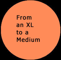 From an XL to a Medium. Weight Loss. Click to read more ...