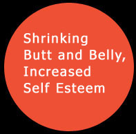 Shrinking Butt and Belly, Increased Self Esteem. Click to read more ...